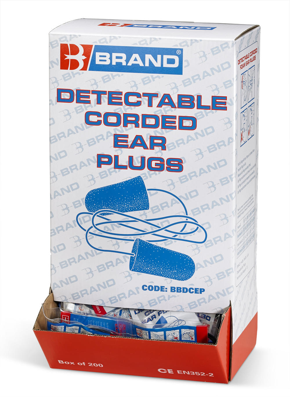 CORDED DETECTABLE PLUGS - BBDCEP