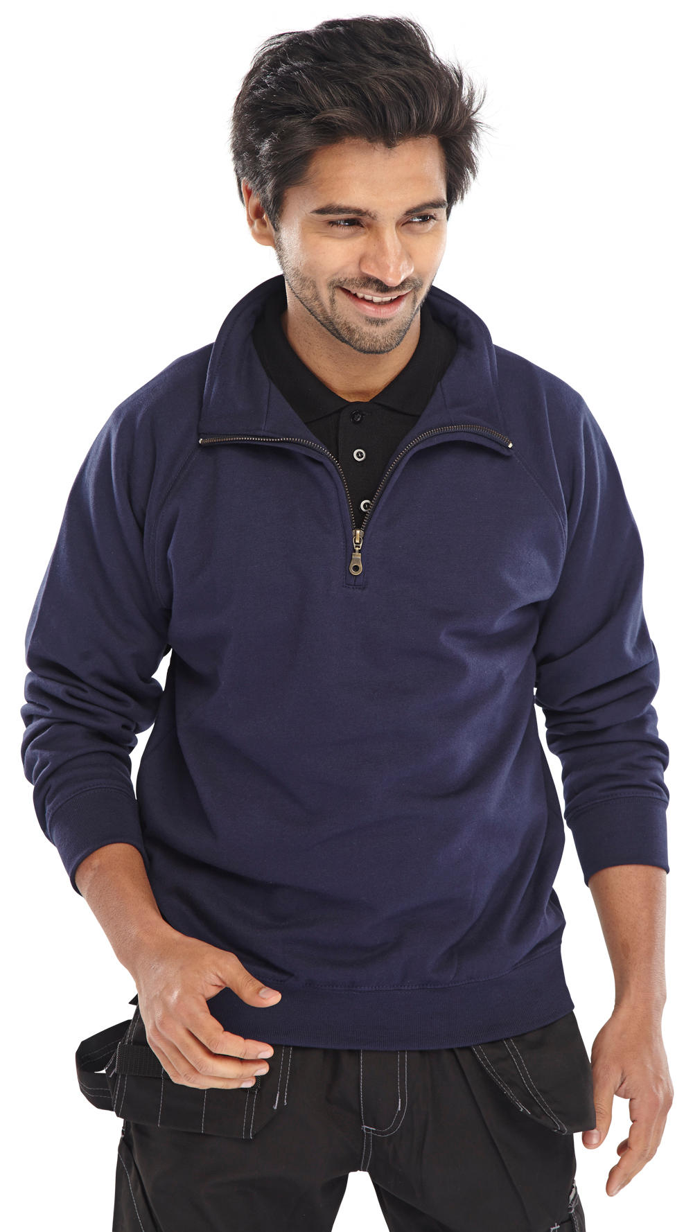 QUARTER ZIP SWEATSHIRT - CLQZSS
