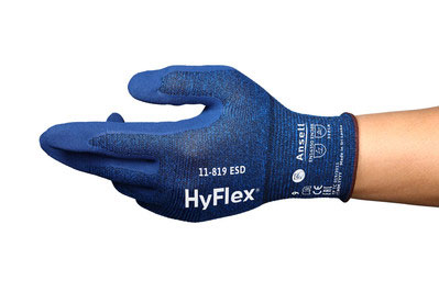 ANSELL HYFLEX 11-819 ESD TOUCHSCREEN GLOVE - AN11-819