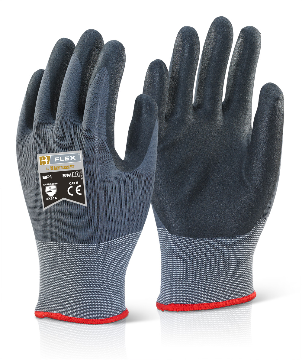 NITRILE PU MIX COATED GLOVE - BF1