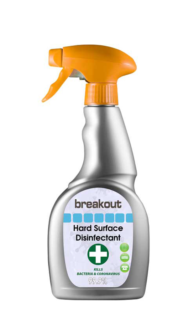 BREAKOUT SANITIZER SPRAY 500ML  - BR500
