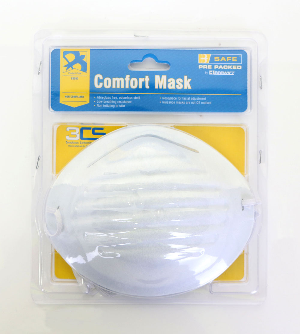 PRE PACKED COMFORT MASKS 5/PACK - BS030