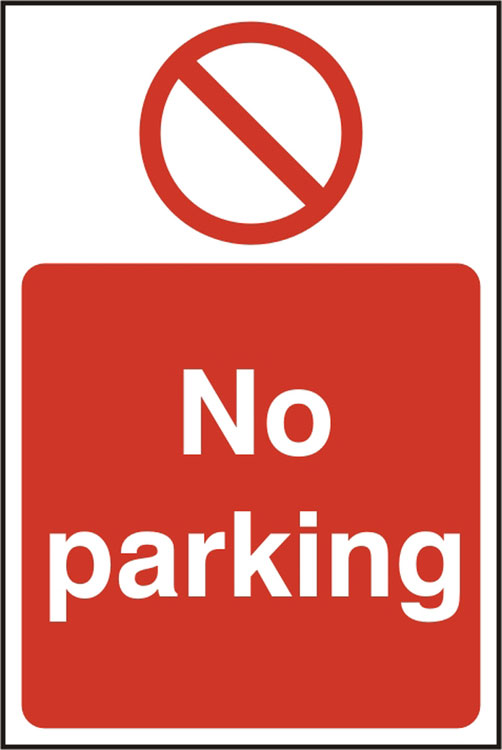 NO PARKING SIGN - BSS11627
