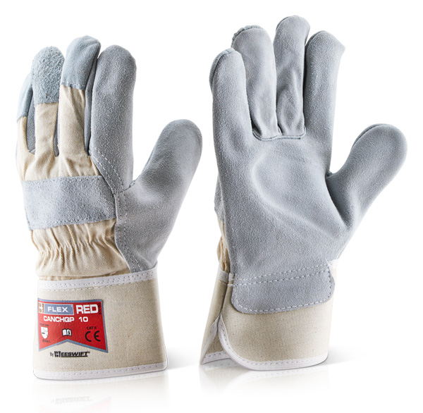 CANADIAN HIGH QUALITY RED RIGGER GLOVE - CANCHQP