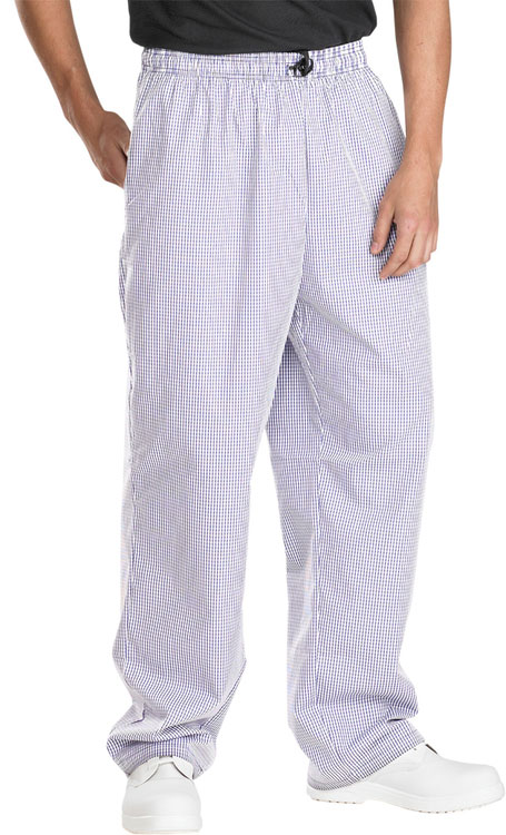 CHEFS TROUSERS SMALL CHECK - CCCTSCNW