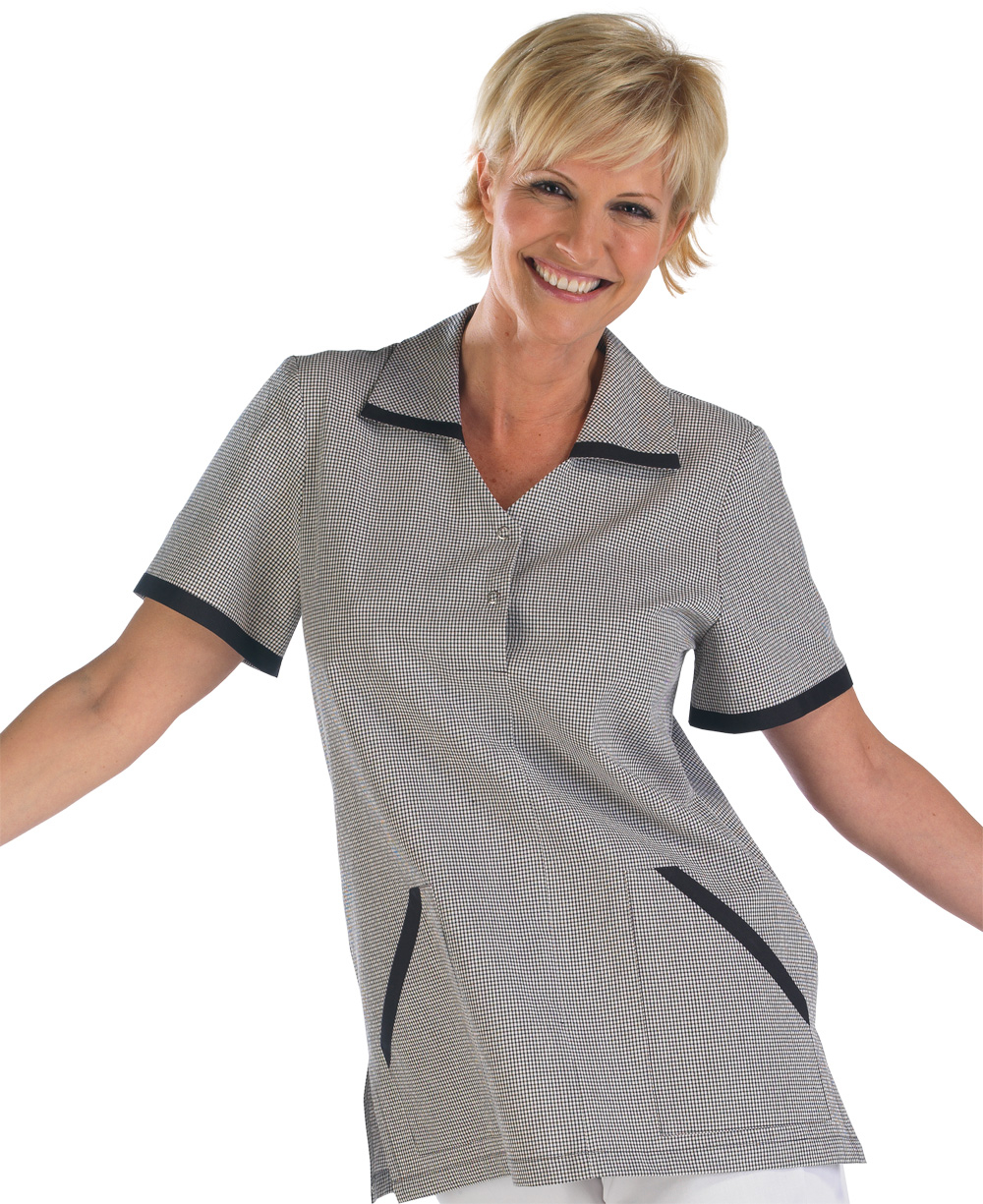 LADIES CHECK TUNIC - CCLCT