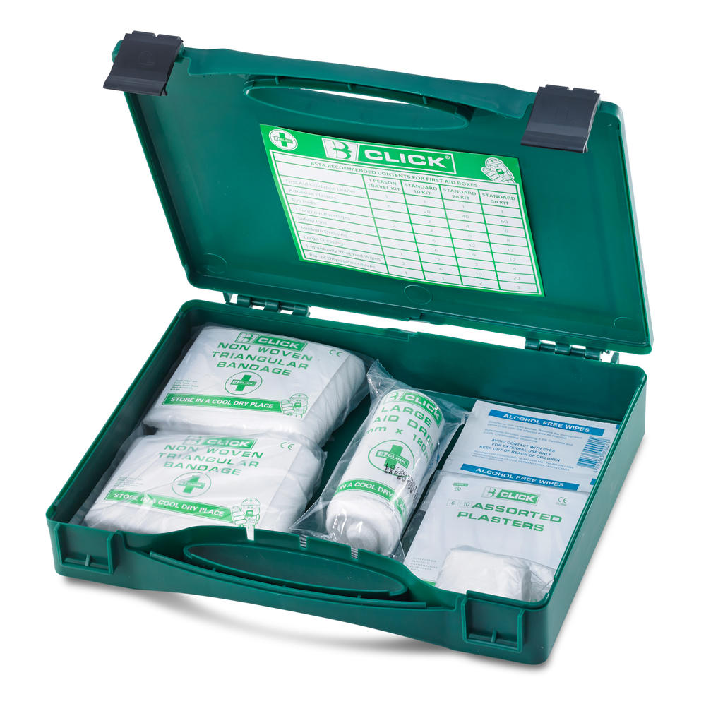 1 PERSON FIRST AID KIT BOXED  - CFA1
