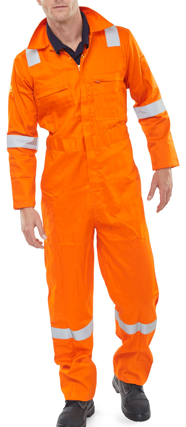 FR BURGAN BOILERSUIT ANTI-STATIC - CFRASBBSOR