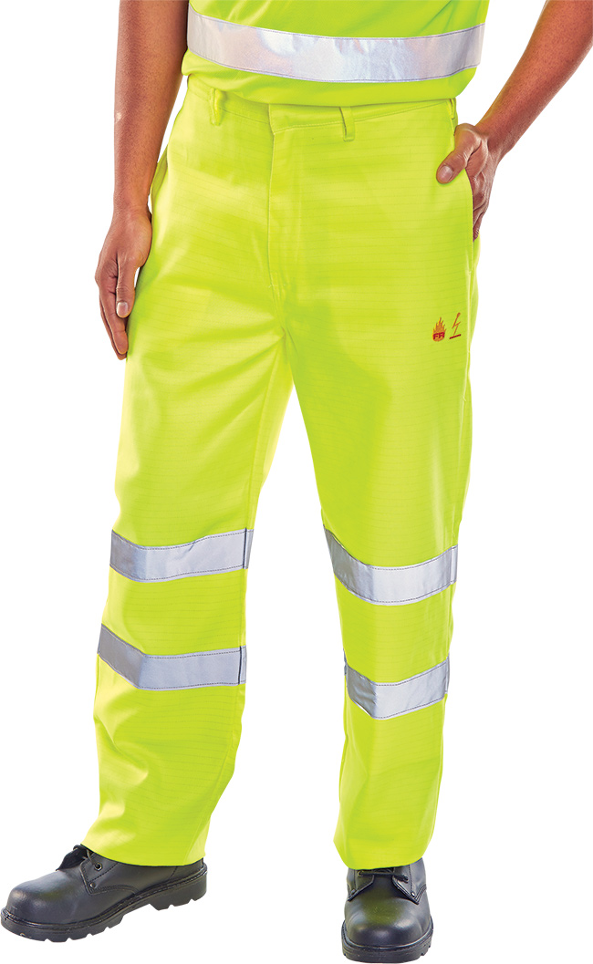 FIRE RETARDANT ANTI STATIC TROUSERS EN471 - CFRASTETSY