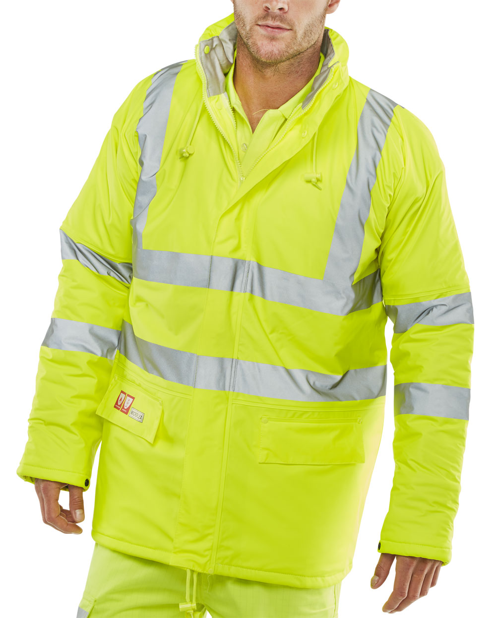 FIRE RETARDANT ANTI-STATIC PADDED JACKET - CFRLR3456