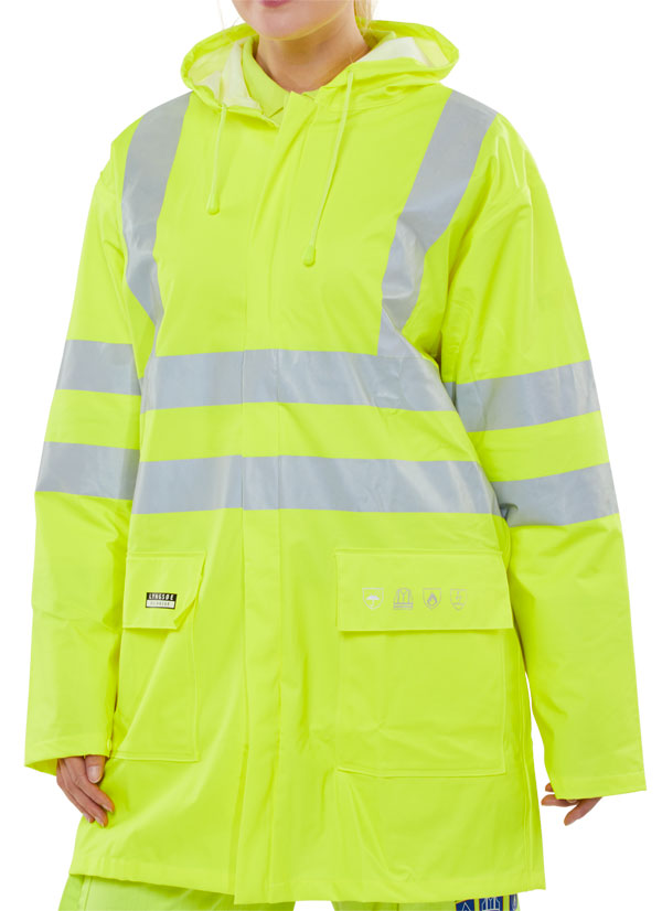 FIRE RETARDANT ANTI-STATIC JACKET - CFRLR55