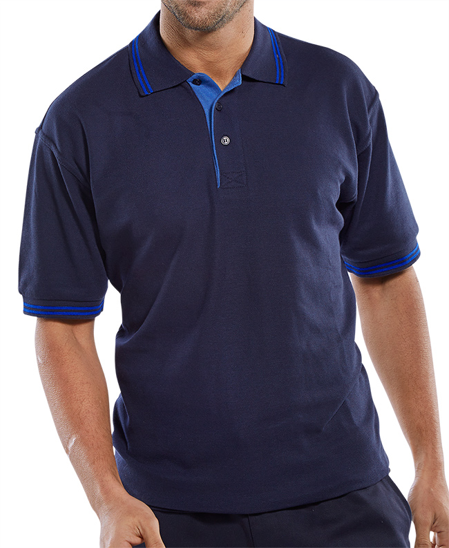 CLICK TWO TONE POLO SHIRT - CLPKSTTNR