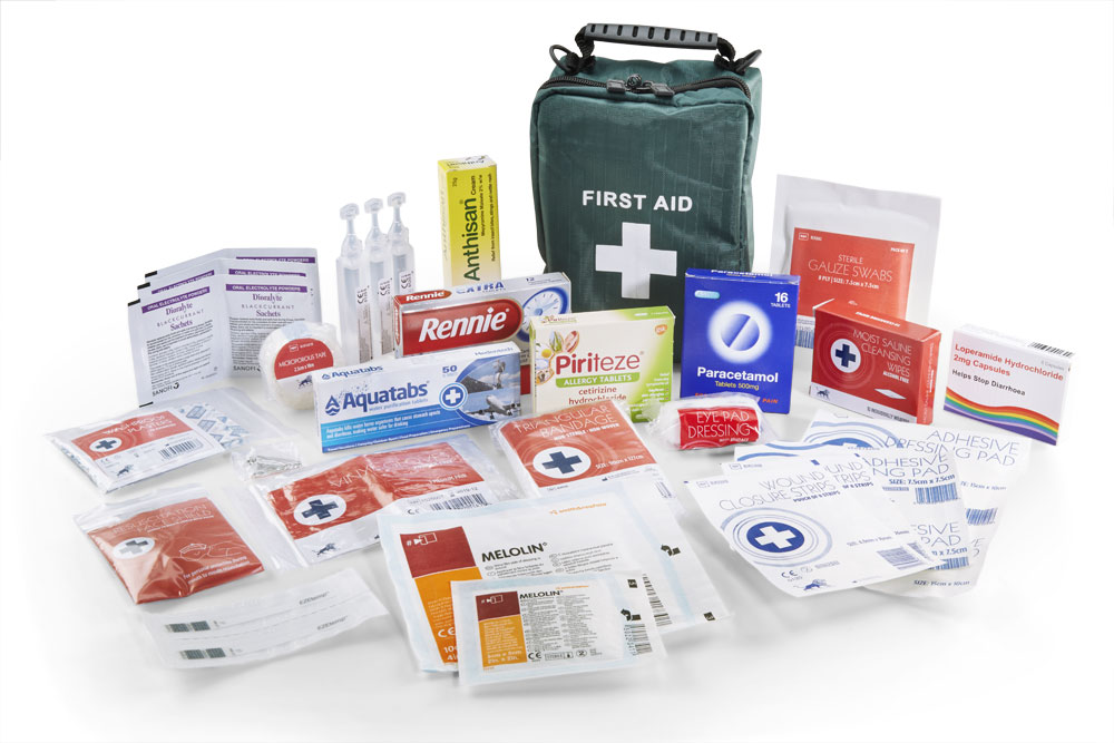 MEDICAL TRAVEL ESSENTIALS FIRST AID KIT - CM0146