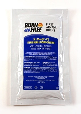 BURN FREE BURNS DRESSING 20 X 20CM - CM0333