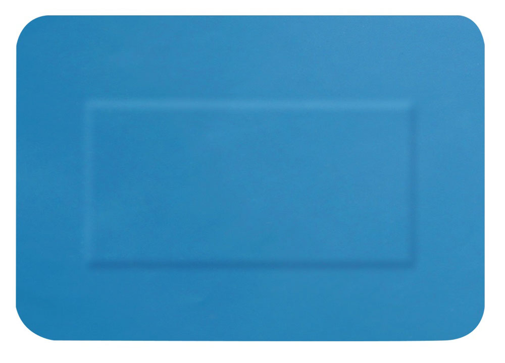 BLUE DETECTABLE PLASTERS 20 ASSORTED - CM0508