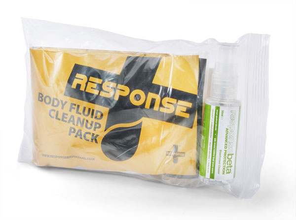 BODY FLUID SPILL KIT (ONE APPLICATION) - CM0615
