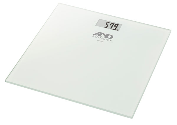 GLASS TOP PERSONAL DIGITAL SCALE - CM1725