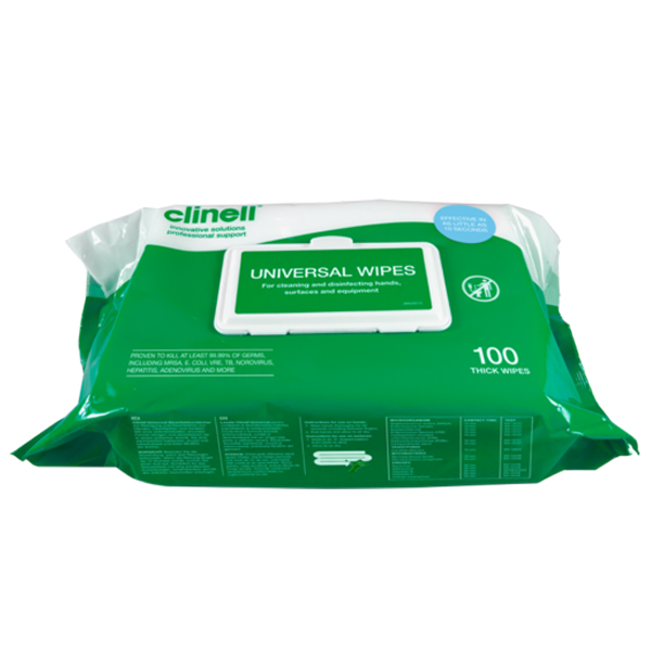 CLINELL UNIVERSAL WIPES - CM1907