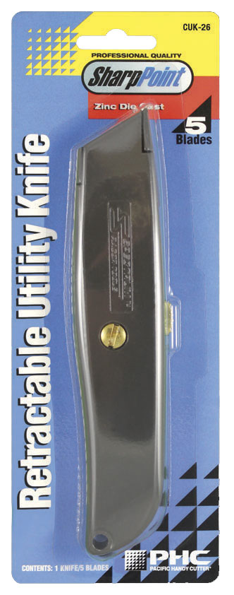 RETRACTABLE UTILITY KNIFE  - CUK-26