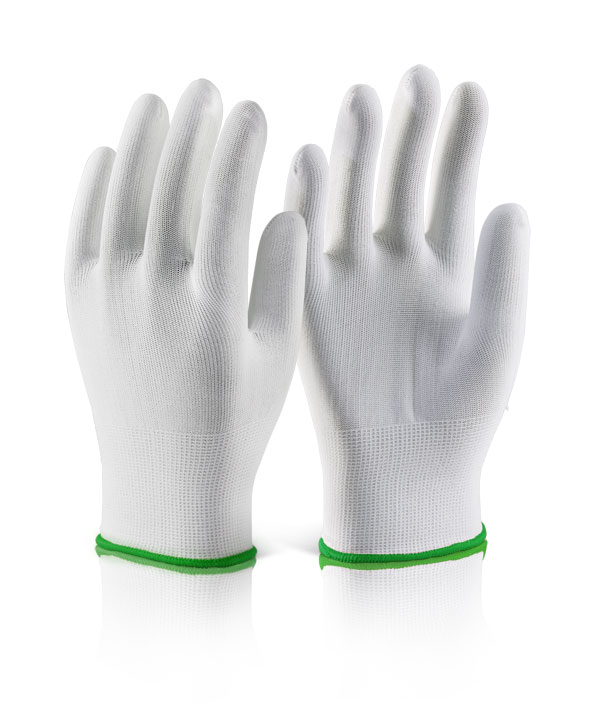 POLYESTER KNITTED LINER GLOVE - EC11