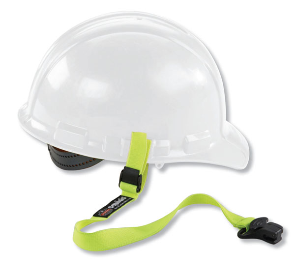 ELASTIC HARD HAT LANYARD-CLAMP  - EY3155