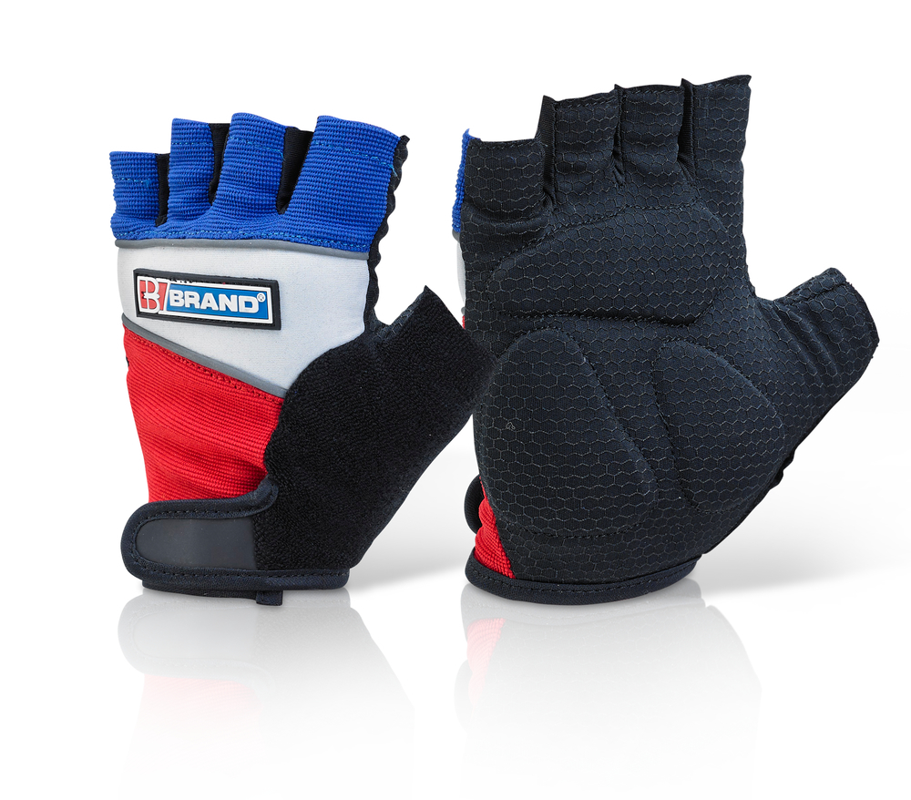 FINGERLESS GEL GRIP GLOVES - FGG01