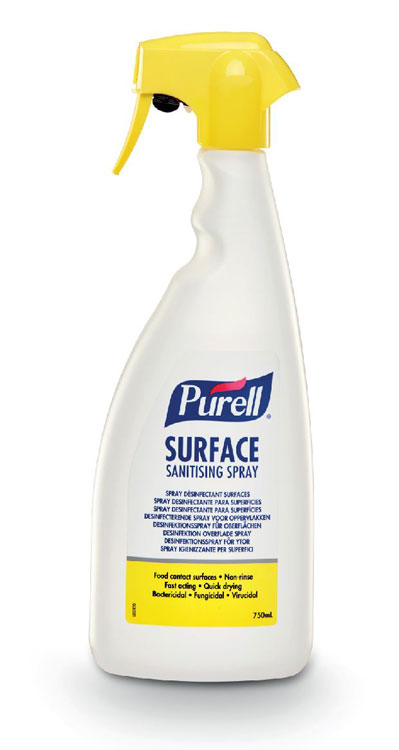 PURELL SURFACE SANITISING SPRAY 750ML - GJ32675-06