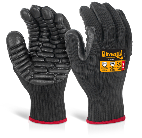 GLOVEZILLA ANTI-VIBRATION GLOVE - GZAVG