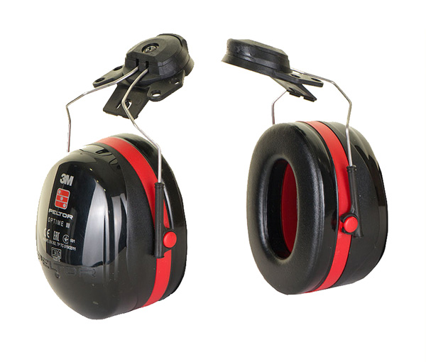 PELTOR OPTIME 3 HELMET ATTACH - H540P3E-413-SV