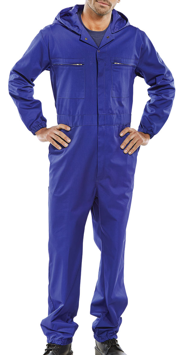 SUPER CLICK HOODED BOILERSUIT - PCBSHCAR