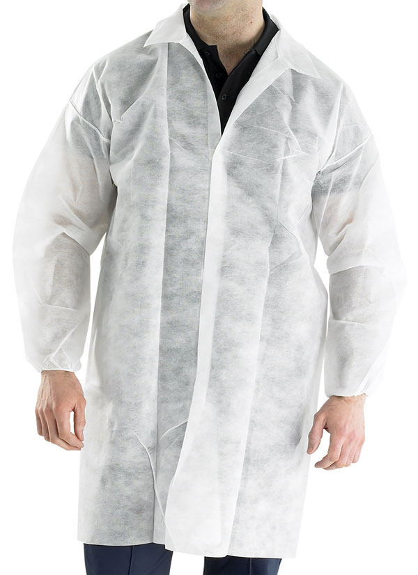 POLPROP DISPOSABLE VISITORS COAT - PDVC