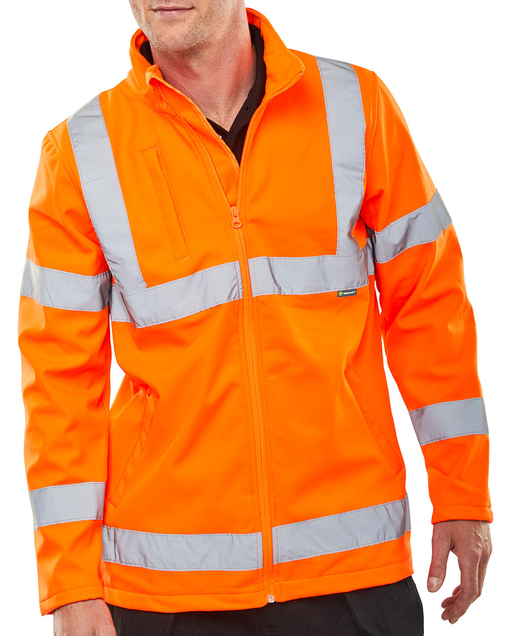 SOFT SHELL JKT HV ORANGE EN20471 GORT3279 - SS20471OR
