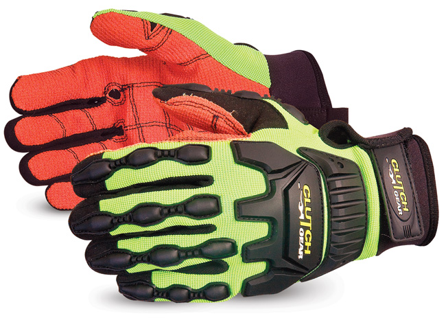 CLUTCH GEAR® IMPACT PROTECTION OILFIELD  GLOVE WITH ARMORTEX® PALM - SUMXVSBA