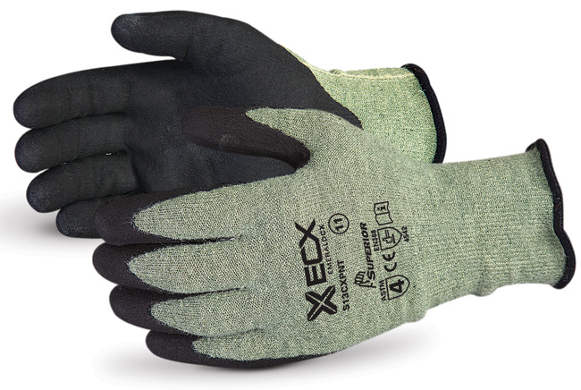 EMERALD CX® KEVLAR®  WIRE-CORE GLOVES WITH MICROPORE NITRILE PALMS - SUS13CXPNT