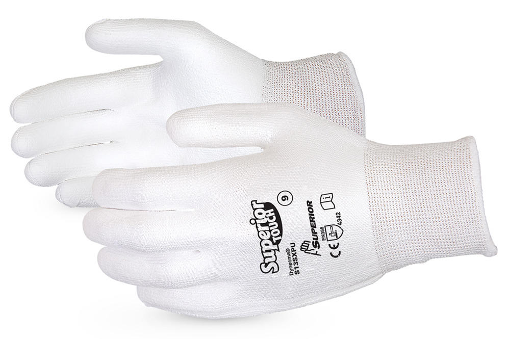 SUPERIOR TOUCH CUT-RESISTANT PALM COATED GLOVES - SUS13SXPU