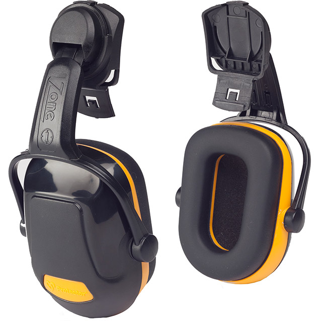 ZONE 1 HELMET MOUNTED EAR DEFENDER - Z1HME
