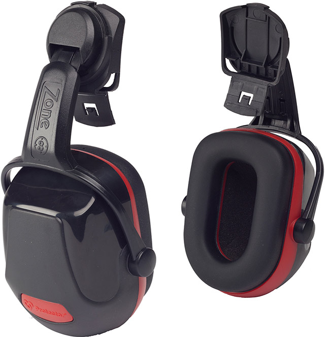 ZONE 3 HELMET MOUNTED EAR DEFENDER - Z3HME
